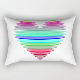 Glass heart Rectangular Pillow
