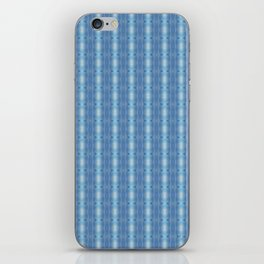 Sky Blue Winter Clouds Vertical Patten iPhone Skin