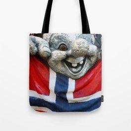 Norwegian Troll Photography Tote Bag