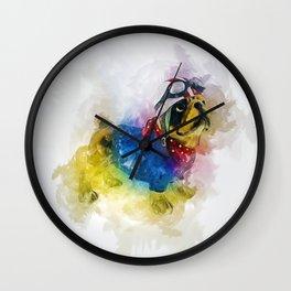Bulldog Pilot Wall Clock