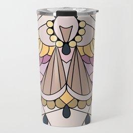 Moth - Eublemma purpurina Travel Mug