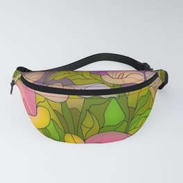 Happy Floral Valley Fanny Pack