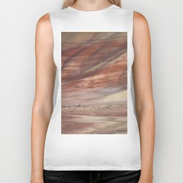 Hills Painted by Earth Minerals Biker Tank