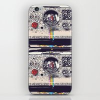 camera iPhone & iPod Skins featuring COLOR BLINDNESS by Huebucket