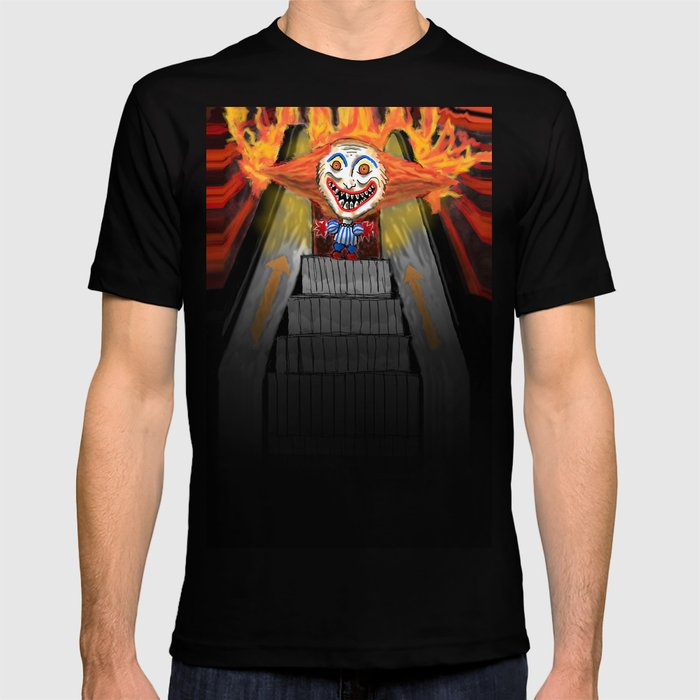 Sick Again Scary Clown T Shirt By Melasdesign Society6