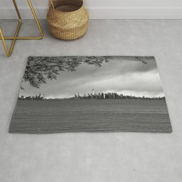 New York City - Storm Clouds Rug
