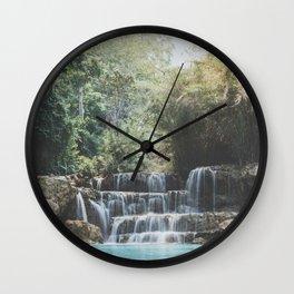 Laos Wall Clock