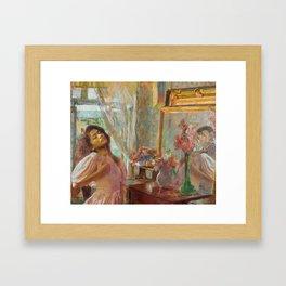 zendaya + olga boznanska Framed Art Print