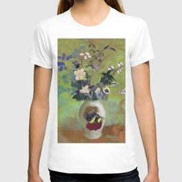 """Odilon Redon """"Vase Au Guerrier Japonais"""" T-shirt"""