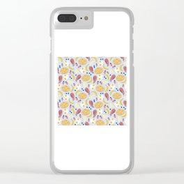 Breakfast Food Clear iPhone Case