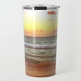 beacH Sunrise Sunset Travel Mug