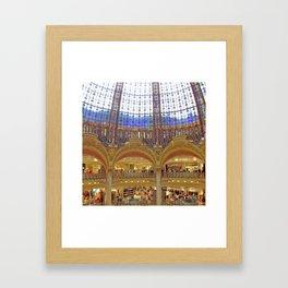 Galleries Lafayette Framed Art Print