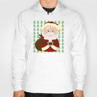 santa Hoodies featuring Santa by Alapapaju