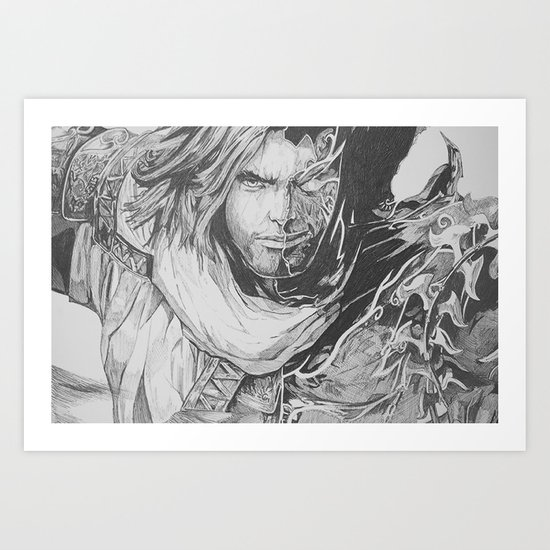 Prince Of Pen Art Print