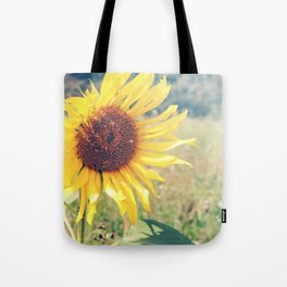 Sunflower Meadow Tote Bag