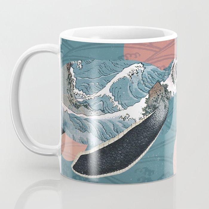 Sea Turtle Polka Coffee Mug