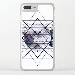 Solar Diamonds Clear iPhone Case