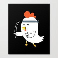 Chicken Chop Canvas Print