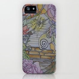 Fairy Hideaway at Night iPhone Case