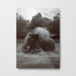 Soft Heart In a Cruel World Metal Print