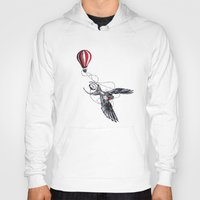 swallow Hoodies featuring Swallow Travel by Jonathan Habens