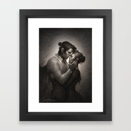 Cassian & Nesta Framed Art Print