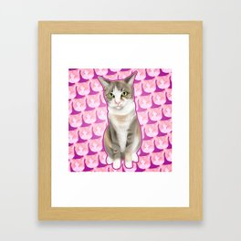 Keeley Kat Jackson Framed Art Print