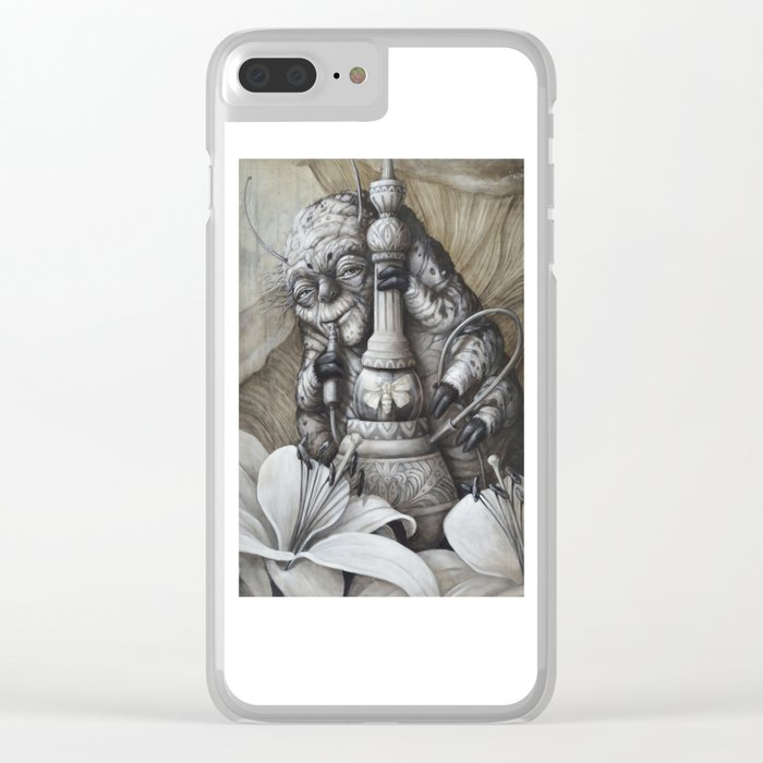 Bombyx Clear iPhone Case