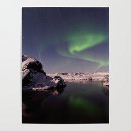 Northern Lights or Aurora Borealis - Alaska Poster