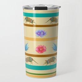 Armadillo Pattern Travel Mug
