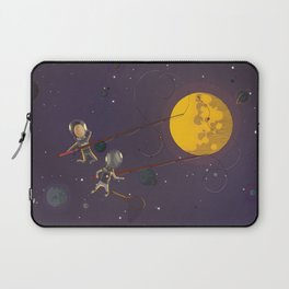 Spacemen - Fishing Laptop Sleeve