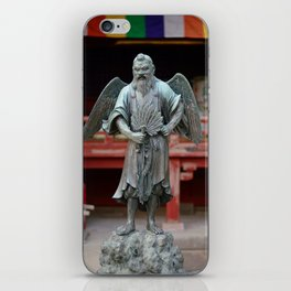 Tengu at Shrine iPhone Skin