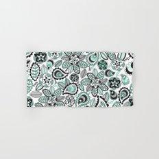 Aqua Paisley Hand & Bath Towel