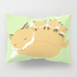 Fox family Pillow Sham