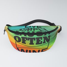 life quote Fanny Pack