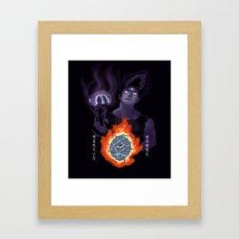 Hiei, The Cursed Child Framed Art Print