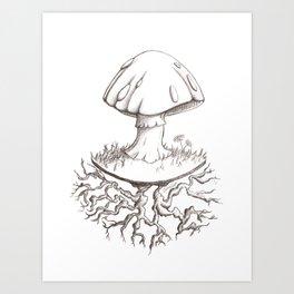 Mushroomy Art Print