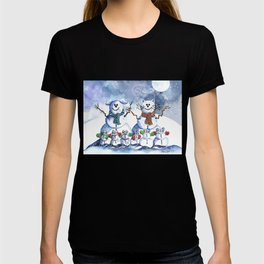 It's Snowing Cats and Dogs (and Mice too) T-shirt