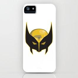 Logan Weapon X Superhero Mask iPhone Case
