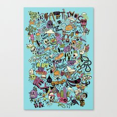 For the love of drawing Canvas Print