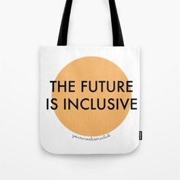 The Future Is Inclusive - Orange Tote Bag