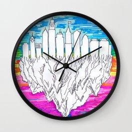 Philadelphia, City of Brotherly Love Wall Clock
