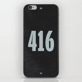 416 iPhone Skin