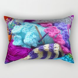 For the love of crafting Rectangular Pillow