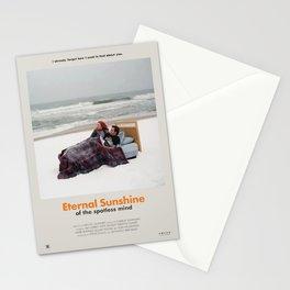 Eternal Sunshine of the Spotless Mind (2004) Minimalist Poster Stationery Cards