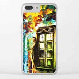 Time Lord Clear iPhone Case