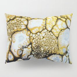 Black and White and Gold Allover Pillow Sham
