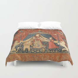 The Lady And The Unicorn Duvet Cover