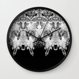 Kryptonite - Black & White Wall Clock