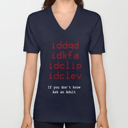 Need An Adult Unisex V-Neck